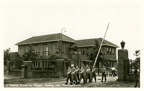 De Van Horne kazerne in Weert